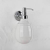 Дозатор для жидкого мыла керамика ( Versace ), хром A214040k