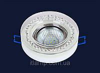 Точечный светильник круглый со стразамиLst716MKD056