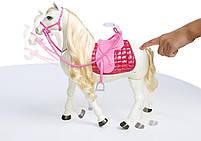 Игровой набор кукла Барби Всадница и Интерактивная Лошадь Мечты - Barbie Dreamhouse FRV36, фото 2