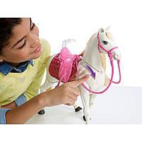 Игровой набор кукла Барби Всадница и Интерактивная Лошадь Мечты - Barbie Dreamhouse FRV36, фото 4