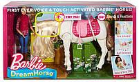 Игровой набор кукла Барби Всадница и Интерактивная Лошадь Мечты - Barbie Dreamhouse FRV36, фото 6