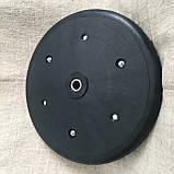 """Прикотуюче колесо в зборі ( диск поліамід) з підшипником  1"""" x 12"""", Quivogne, фото 2"""