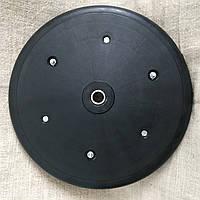 """Прикотуюче колесо в зборі ( диск поліамід) з підшипником  1"""" x 12"""", Quivogne, фото 1"""