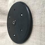 """Прикотуюче колесо в зборі ( диск поліамід) з підшипником  1"""" x 12"""", Quivogne, фото 3"""