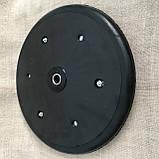 """Прикотуюче колесо в зборі ( диск поліамід) з підшипником  1"""" x 12"""", Quivogne, фото 4"""