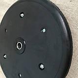 """Прикотуюче колесо в зборі ( диск поліамід) з підшипником  1"""" x 12"""", Quivogne, фото 5"""