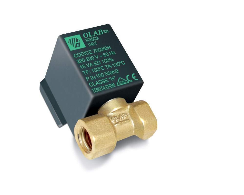 """Катушка электромагнитного клапана Silter TY 70006/AE Olab Solenoid Valf * ¼"""" без регулировки."""