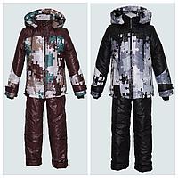 Комбинезон и куртка для мальчика Пазлы