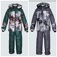 Зимний комплект | Детский комбинезон и куртка зима