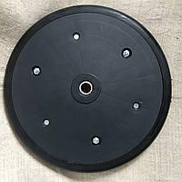 """Прикотуюче колесо в зборі ( диск поліпропілен ) з підшипником  1"""" x 12"""", Quivogne, фото 1"""