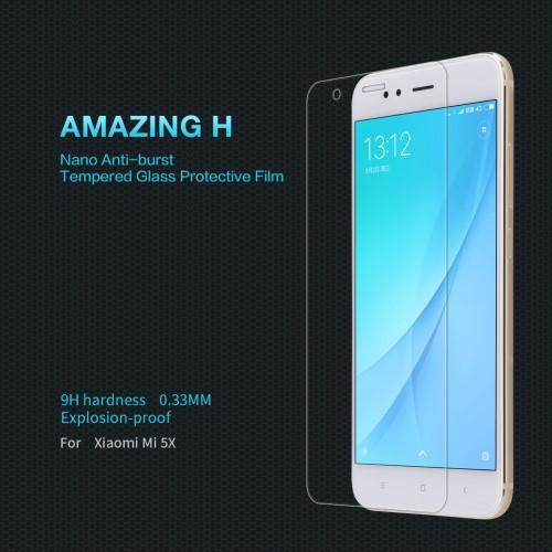 Защитное стекло Nillkin H для Xiaomi Mi A1 5X