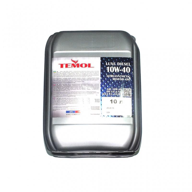 Масло TEMOL Luxe Diesel 10w40 20л