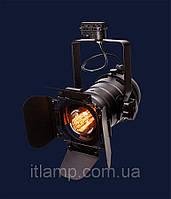 Универсальный светильник прожектор 75219 BK (трек)
