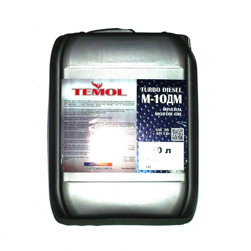 Масло TEMOL Turbo Diesel М10ДМ SAE 30 10л
