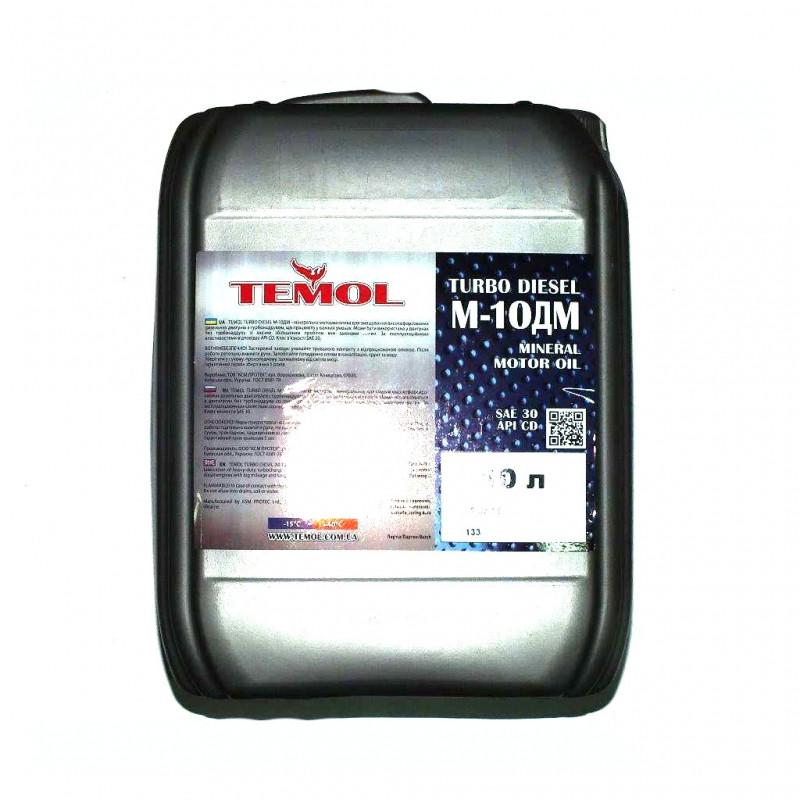 Масло TEMOL Turbo Diesel М10ДМ SAE 30 20л