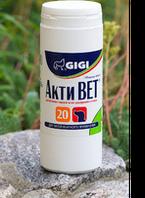 Витамины GIGI Акти Вет (глюкозамин, хондроитин, МСМ) 1т/20кг №100