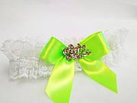 Свадебная подвязка для невесты Elle