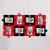 Современная мультирамка Пазл на 8 фотографии