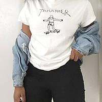 Футболка Thrasher женская | Бирки ориг. | Любой размер