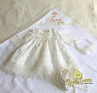 """Платье для крещения """"Квинти"""", фото 1"""