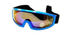 Спортивные очки маска для горнолыжного спорта NICE FACE