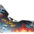 Летающее крыло Tech One Popwing 900мм EPP ARF (черный