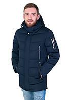 Мужская утепленная куртка на зиму Black wolf