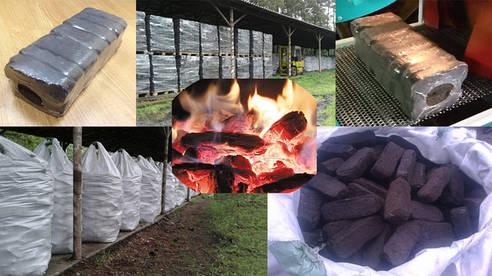 Топливные торфяные брикеты (торфобрикеты)