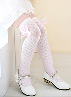 Гольфы - чулки для девочки  Розовые !!!! Оптом