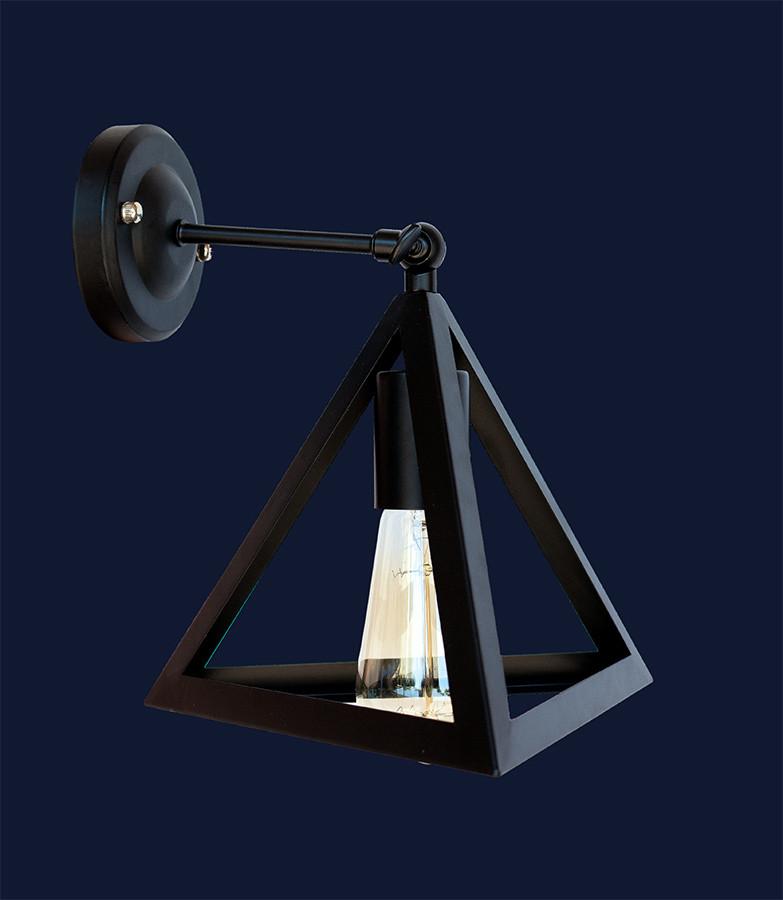 Светильник бра LOFT L56W220F-1 BK
