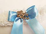 Свадебная подвязка для невесты Elle, фото 3