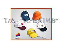 Бейсболки, кепки с возможностью нанесения логотипа (отшив от 100 шт.)