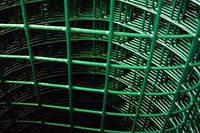 Сетка сварная c ПВХ покрытием 2,5*50*50мм/1,2м*10м зеленая BudmonsteR PRIME