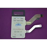 Пленочная клавиатура (мембрана) для микроволновки (СВЧ-печи) Samsung DE34-00115F G2739NR (белая)