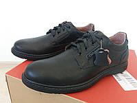 Мужская осенняя обувь туфли кожаные
