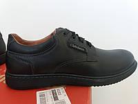 Мужские осенние прошитые туфли