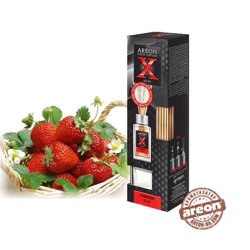 Ароматизатор воздуха Areon Home Perfume X-version 85ml Strawberry