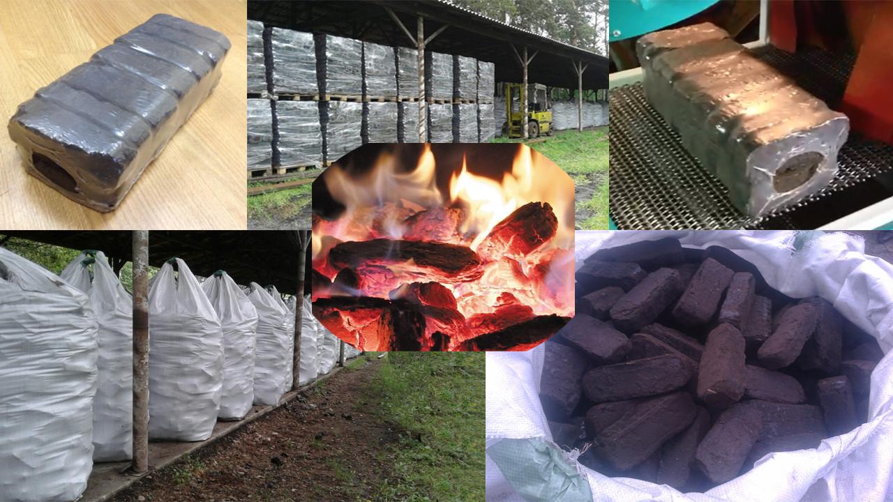 Топливные брикеты для твердотопливных котлов