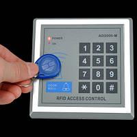 Домофон бесконтактный (вызывная панель) + 10 брелков RFID