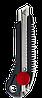 """Ніж з металевою направляючою під лезо 18 мм з гвинтовим фіксатором """"Intertool"""""""