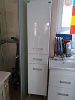 Пенал  Лея Николь 40 см (правый) с корзиной для белья