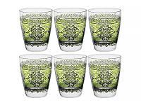 """Набор из 6 стаканов 300 мл """"Шарм Верде"""" 650-670"""