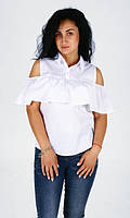Женская блуза-рюша