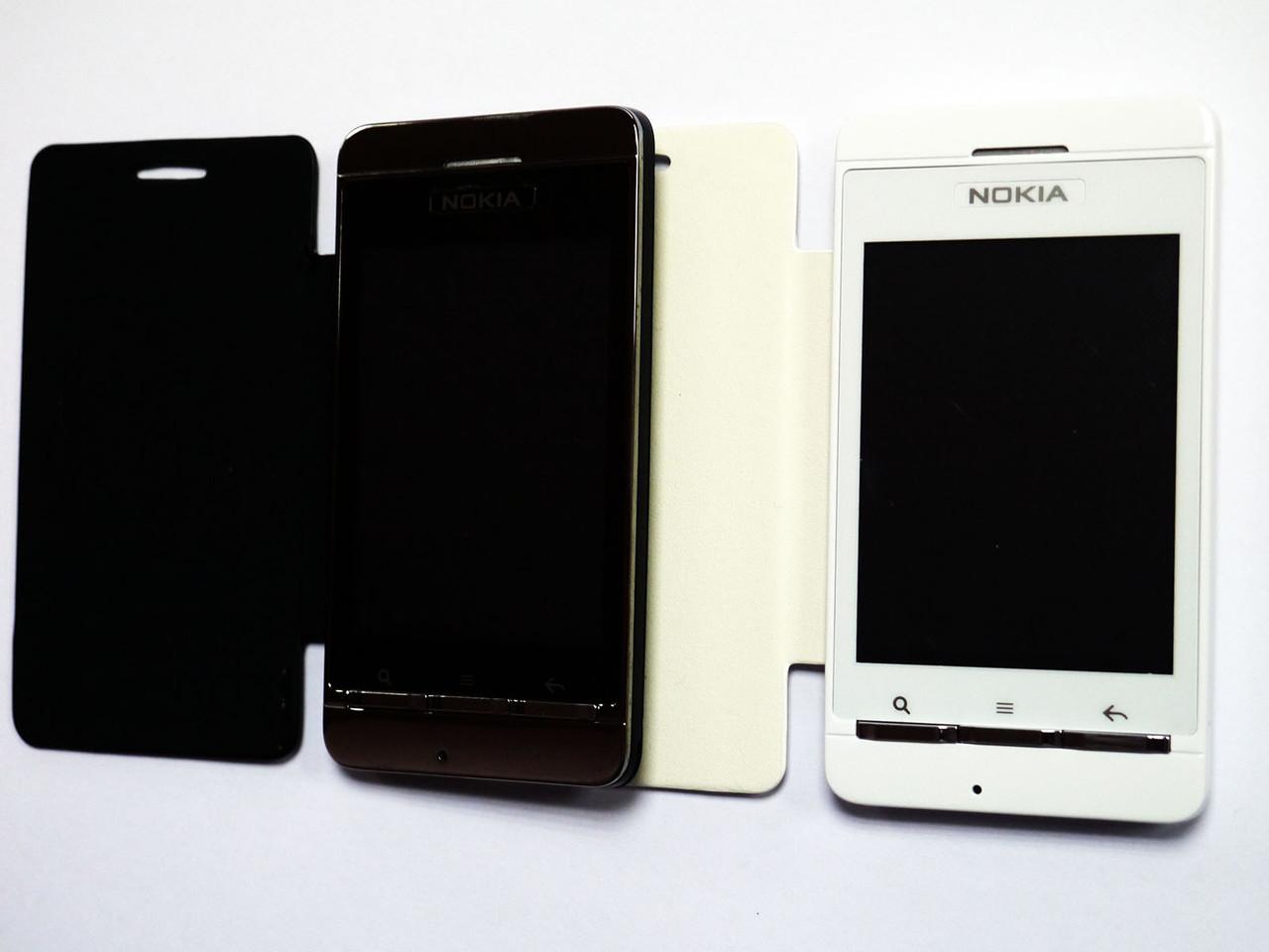"""Сенсорный телефон Nokia Z10 - 2Sim + 3,5""""- флип-чехол"""