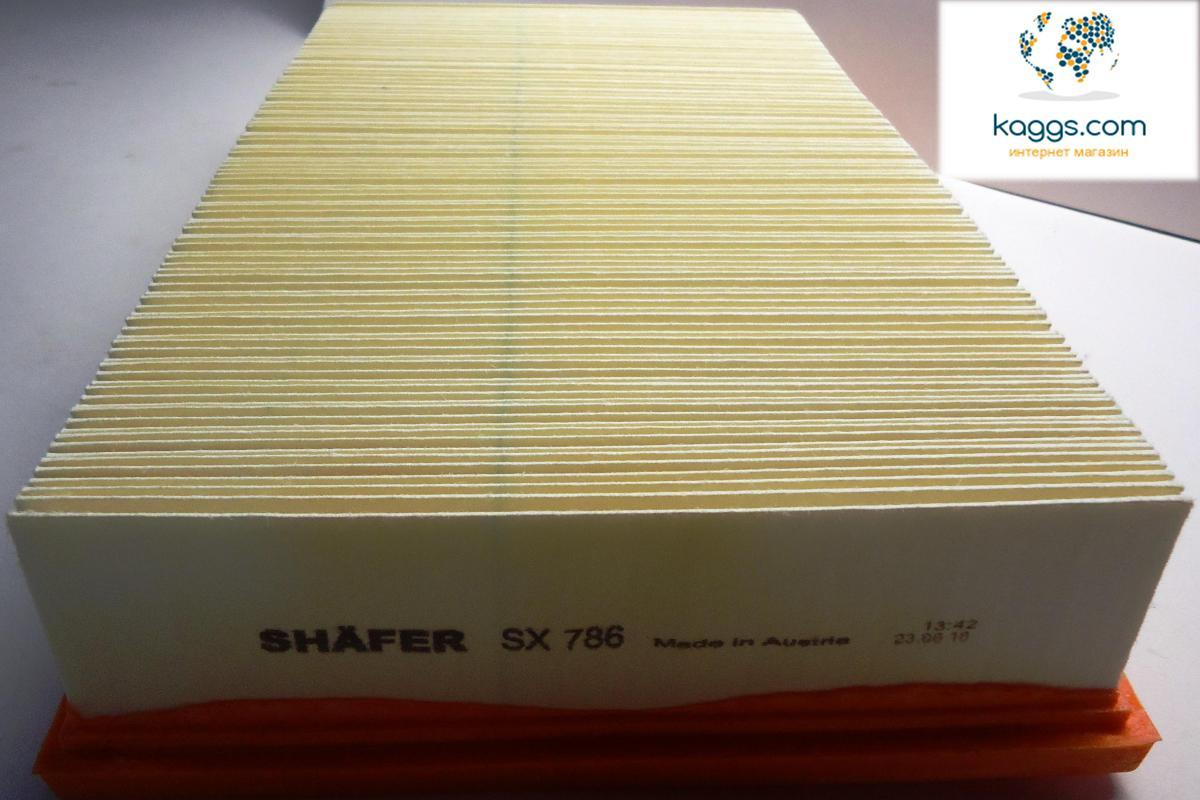 SHÄFER sx786 воздушный фильтр для VW (VOLKSWAGEN): Caravelle T5 (03-), Caravelle T6 (15-), Transporter T5.