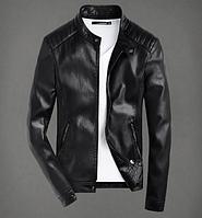 Мужская кожаная куртка. Модель 61157