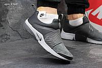 Замшевые кроссовки мужские Nike Presto, серые