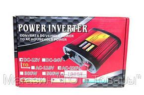Преобразователь 790 gm POWER INVERTER 1000-12 W, фото 2