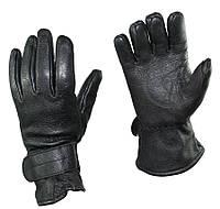 Кожаные перчатки с утеплителем. ВС Австрии, оригинал