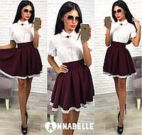 Женская школьная   юбка  опт и розница 7 км